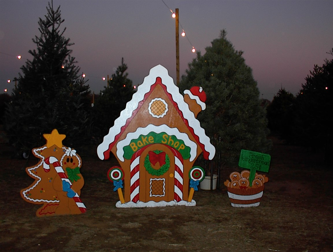 part of the gingerbread house collection hundreds of trees